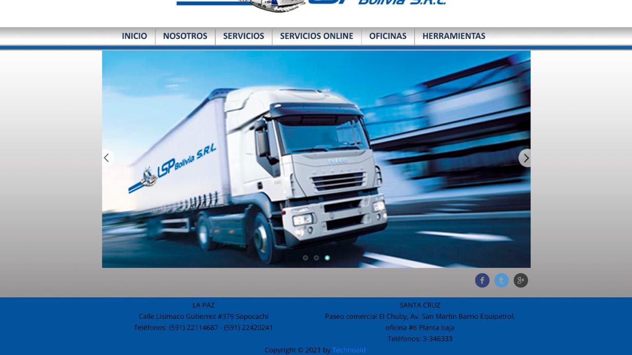 LSP_Bolivia_Website