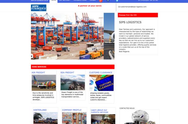 Sips Logistic_Website