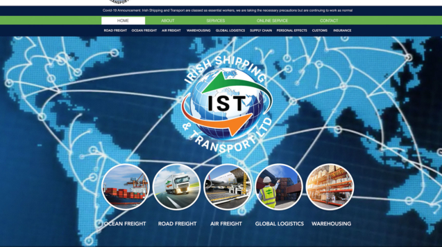 Irish Shipping and Transport Ltd - IRELAND_Website
